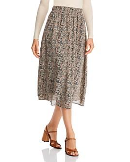 Vero Moda - Josephine Printed Midi Skirt