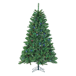 Gerson Company 7 ft. Montana Pine with Multicolor Led Lights