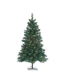 Gerson Company - 4 ft. Colorado Spruce with Clear Lights