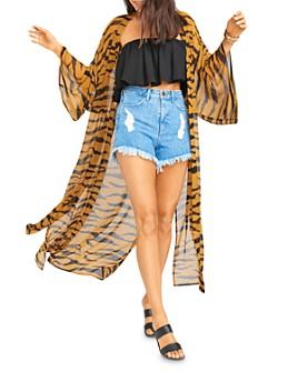 Show Me Your MuMu - Helena Tiger-Printed Kimono