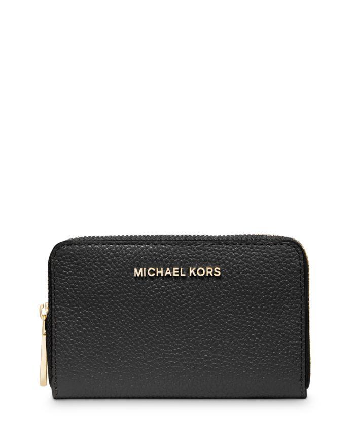 MICHAEL Michael Kors Jet Set Leather Card Case  | Bloomingdale's