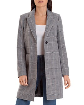 Bagatelle - Glen Plaid Coat