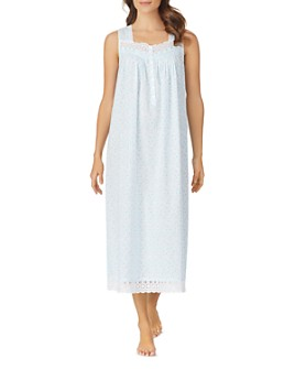 Eileen West - Sleeveless Lace Nightgown