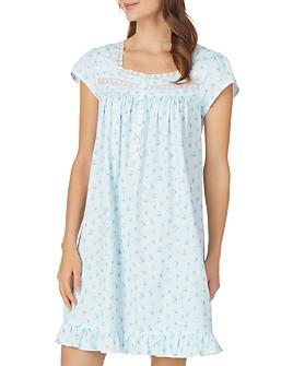 Eileen West - Short Floral Nightgown