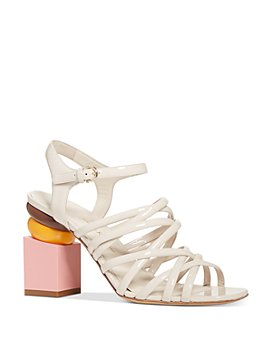 Salvatore Ferragamo - Women's Leonor Strappy Block Heel Sandals