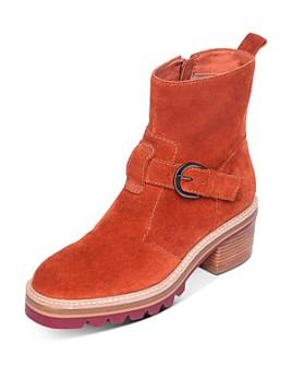 Bernardo - Women's Scout Stacked-Heel Booties
