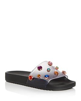 Sophia Webster - Women's Dina Gem Slide Sandals