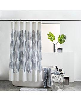 DKNY - Brushstroke Ombré Shower Curtain