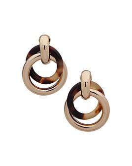 Ralph Lauren - Circle Link Drop Clip-On Earrings