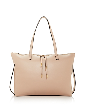 Bally Maelys Leather Tote-Handbags