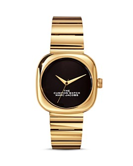 MARC JACOBS - The Cushion Watch, 36mm x 36mm