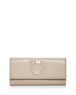 Salvatore Ferragamo - City Leather Continental Wallet