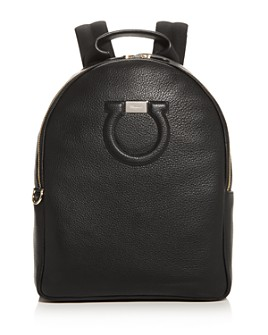Salvatore Ferragamo - Gancini City Large Leather Backpack