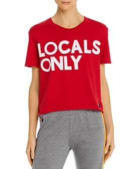 Aviator Nation - Locals Only Boyfriend Tee