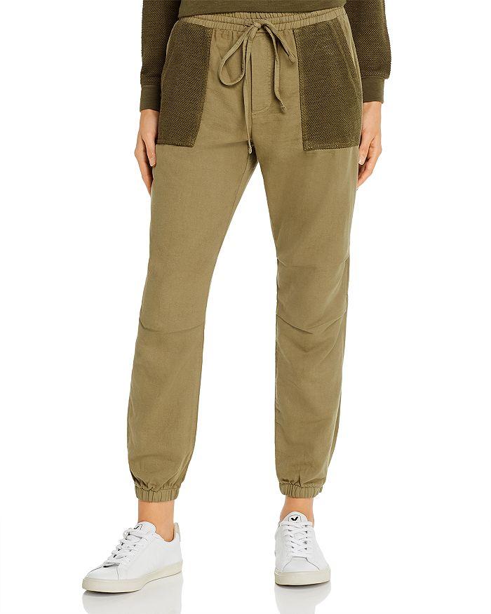 Monrow - Honeycomb-Pocket Jogger Pants