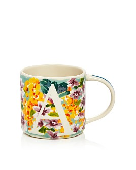 Anthropologie Home - Dawn Monogram Mug