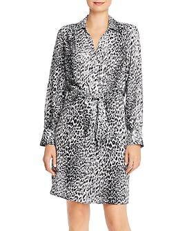 Brochu Walker - Madsen Leopard-Printed Shirt Dress