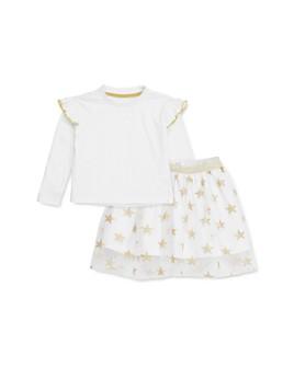 Sovereign Code - Girls' Mona Ruffled Tee & Audrey Star Print Skirt Set - Baby