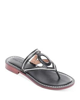 Bernardo - Women's Tania Leather Thong Sandals
