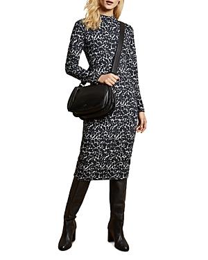 Ted Baker Dresses LINIEE LEOPARD-PRINT DRESS