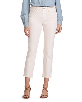 Ralph Lauren - Straight Ankle Jeans in Shell