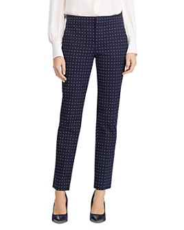 Ralph Lauren - Polka Dot Straight Leg Pants