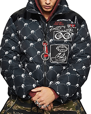 Diesel W-Piatig Peace Regular Fit Puffer Jacket