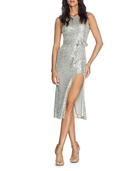 Dress the Population - Karlie Sequined Midi Dress