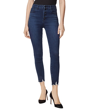 J Brand Lillie High Rise Crop Skinny Jeans in Egotism-Women