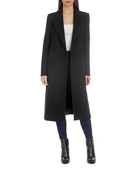 Avec Les Filles - Structured Peaked Lapel Coat