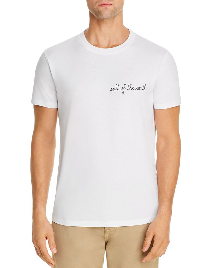 Maison Labiche - Earth Heavy Embroidered Tee - 100% Exclusive