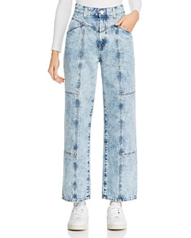 AG - Tomas X Baggy Straight Jeans in Finesse