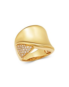 Bloomingdale's - Champagne Diamond Statement Ring in 14k Yellow Gold, 0.35 ct. t.w. - 100% Exclusive
