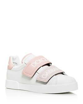 Dolce & Gabbana - Women's Leather Low-Top Sneakers