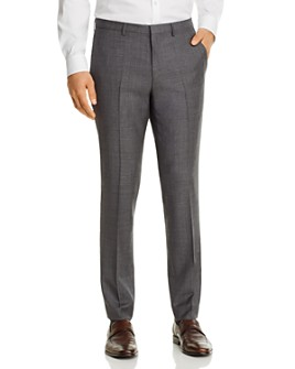 HUGO - Hesten Sharkskin Extra Slim Fit Suit Pants