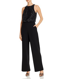 Eliza J - Sequin-Embellished Jumpsuit