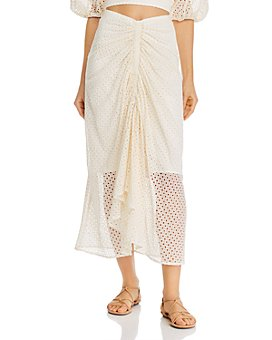 Significant Other - Malia Eyelet Midi Skirt