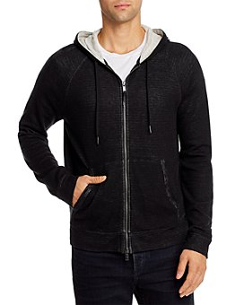 John Varvatos Star USA - Double-Layer Zip Hoodie