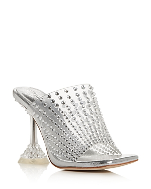 Jeffrey Campbell Women\\\'s Embellished High-Heel Mules