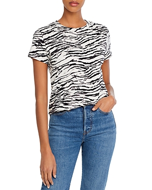 Move Fast by Pam & Gela Tiger Print Tee