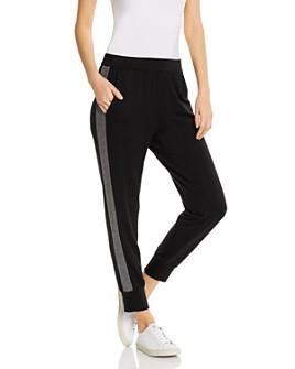 Eileen Fisher Petites - Track-Stripe Jogger Pants