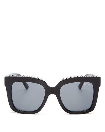 Quay - Women's Icy Square Sunglasses, 50mm