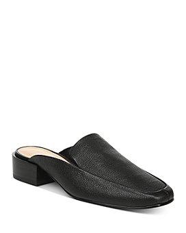 Via Spiga - Women's Bibiane Stacked Heel Mules