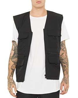 nANA jUDY - Oak Slim Fit Utility Vest