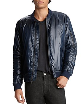 John Varvatos Collection - Lightweight Slim Fit Bomber Jacket