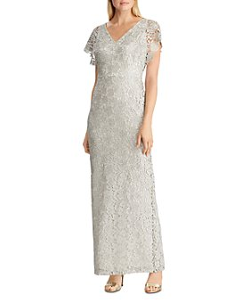 Ralph Lauren - Metallic Lace Gown