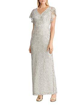 Ralph Lauren - Metallic Lace Gown
