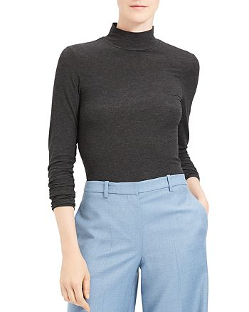 Theory - Mock-Neck Wool & Cashmere Sweater