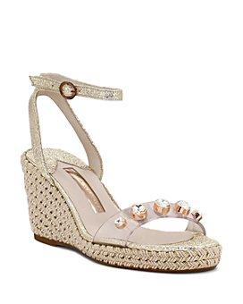 Sophia Webster - Women's Dina Crystal-Embellished Platform Sandals