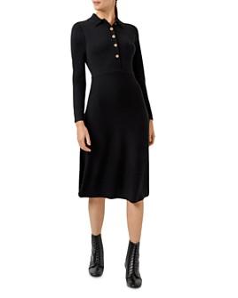 HOBBS LONDON - Raven Knit Shirt Dress